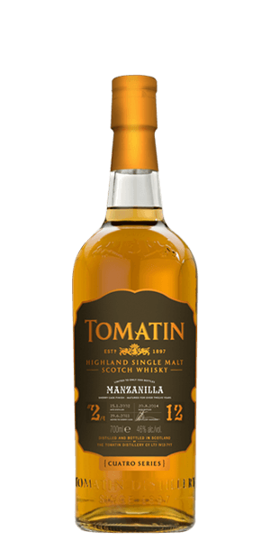 Tomatin 12 Year Old Cuatro Series #2 Manzanilla Sherry Cask Finish