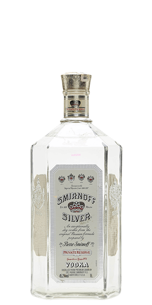 Smirnoff Silver Private Reserve Vodka