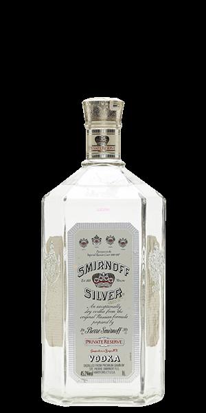 Smirnoff Silver Private Reserve Vodka