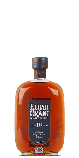 Elijah Craig Single Barrel 18 Year Old Bourbon