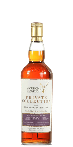 Gordon & MacPhail Linkwood Private Collection 20 Year Old 1991