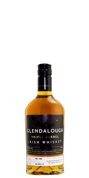 Glendalough Triple Barrel Irish Whiskey