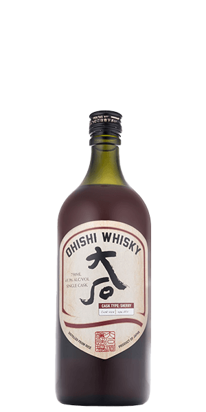 Ohishi Sherry Single Cask Whisky