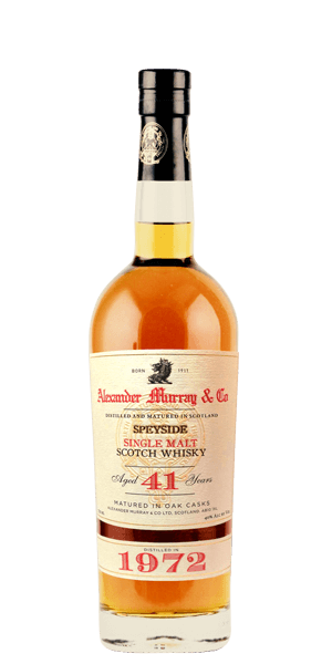 Alexander Murray Speyside 41 Year Old 1972
