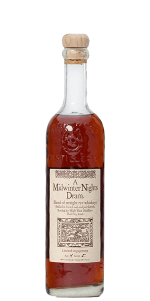 High West A Midwinter Night's Dram