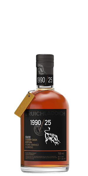 Bruichladdich 25 Year Old 1990 PX Sherry Cask Edition