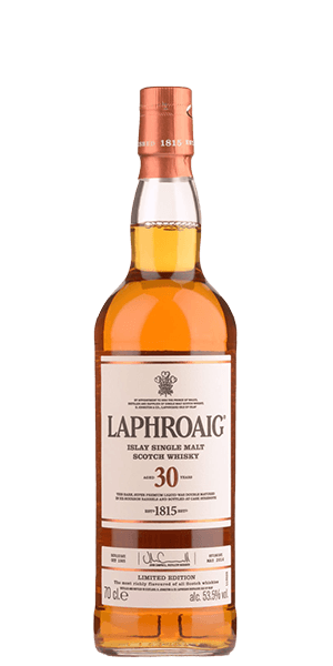 Laphroaig 30 Year Old Cask Strength Limited Edition