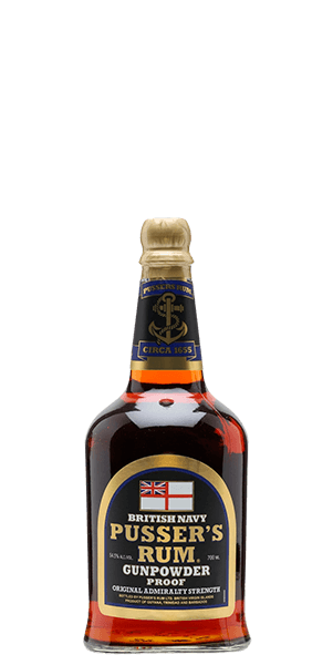 Pusser's British Navy Gunpowder Proof
