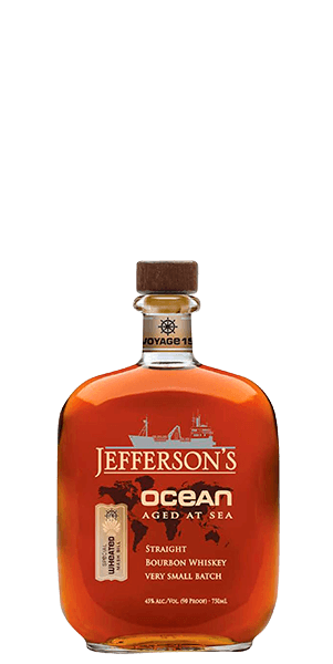 Jefferson's Ocean Aged at Sea Voyage 15 Bourbon