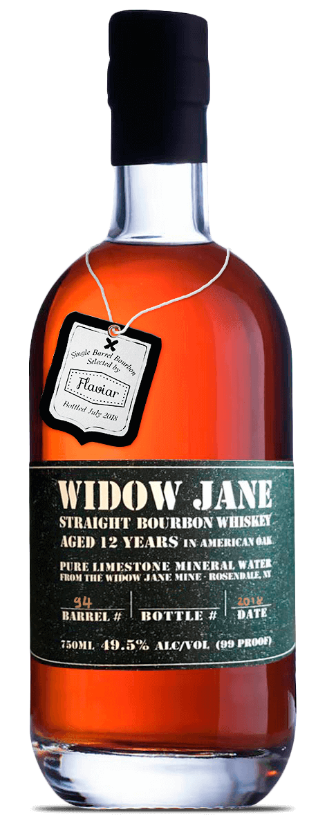 Widow Jane Flaviar Single Barrel 12 Year Old Bourbon 2018