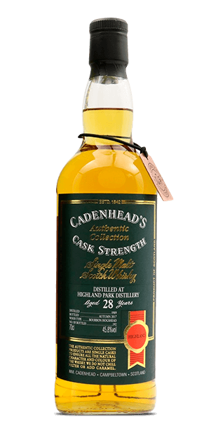 Cadenhead's Highland Park Authentic Collection 28 Year Old 1989