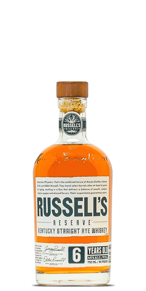 Russell's Reserve 6 Year Old Small Batch Kentucky Straight Rye Whiskey