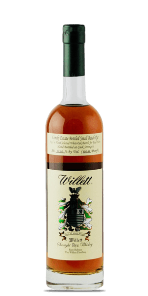 Willett Family Estate 4 Year Old Small Batch Straight Rye Whiskey