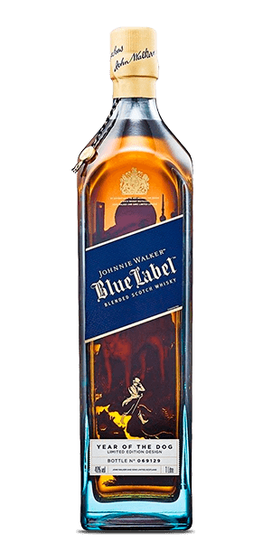 Johnnie Walker Blue Label Year of the Dog Limited Edition