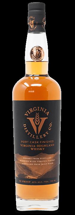 Port Cask Finished Virginia Highland Whisky