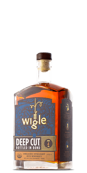 Wigle Deep Cut Bottled in Bond Rye Whiskey