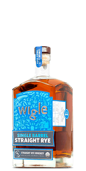 Wigle Single Barrel Straight Rye Whiskey