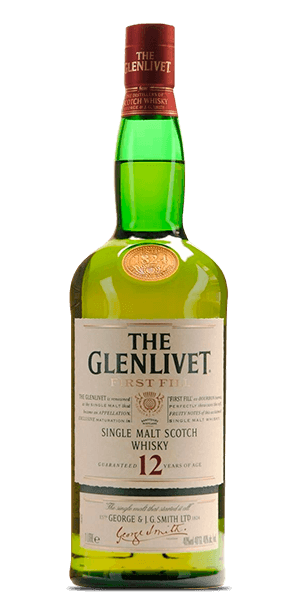 The Glenlivet 12 Year Old First Fill
