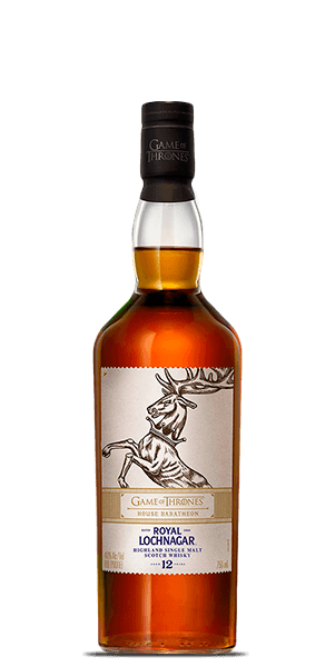 Game of Thrones House Baratheon Royal Lochnagar 12 Year Old