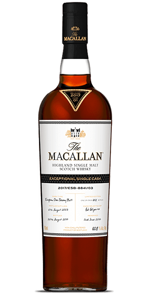 The Macallan Exceptional Single Cask 2017/ESB-8841/03