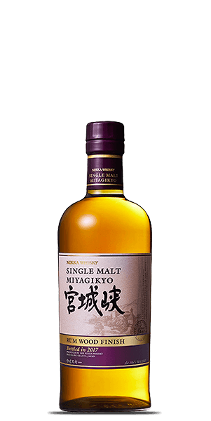 Nikka Miyagikyo Single Malt Rum Wood Finish