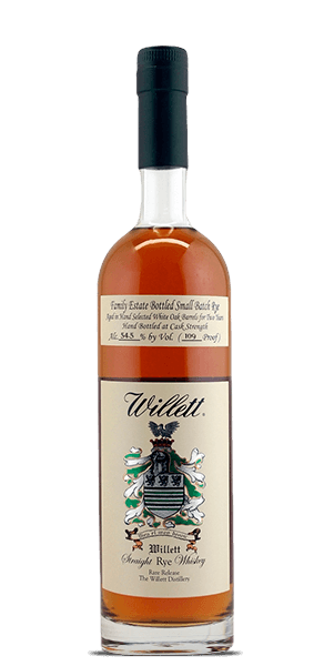 Willett Family Estate Small Batch 2 Year Old Straight Rye Whiskey