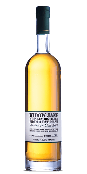 Widow Jane Distilled From a Rye Mash – American Oak Aged Whiskey