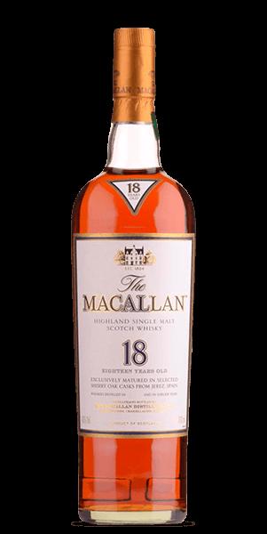 The Macallan 18 Year Old 1995 Sherry Oak