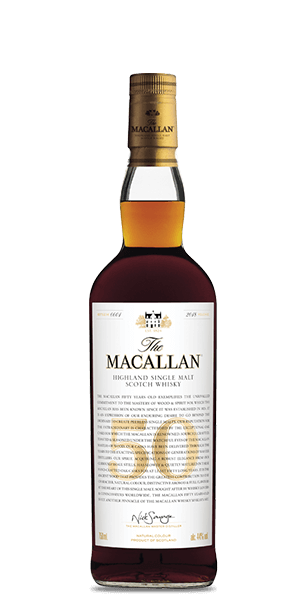 50 Year Old Whiskey >> The Macallan 50 Year Old 2018 Release