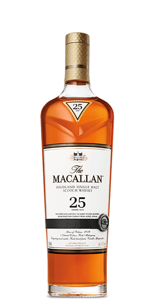 The Macallan 25 Year Old Sherry Oak