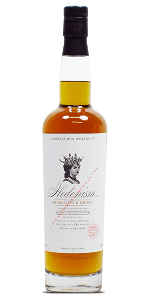 Compass Box Hedonism 10th Anniversary Invergordon 38 Year Old