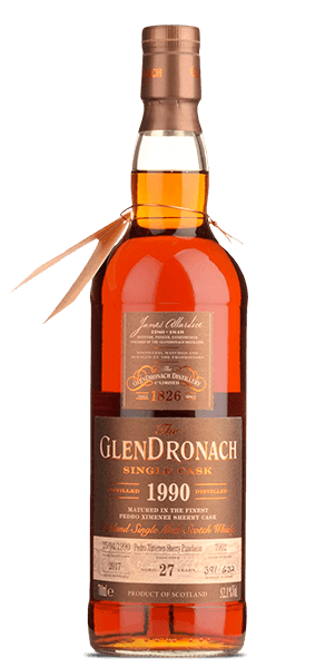 The GlenDronach 27 Year Old 1990