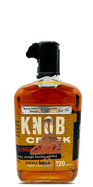 2018 Hero's Share Knob Creek 13 Year Old Single Barrel
