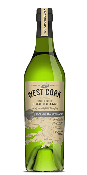 West Cork Glengarriff Peat Charred Cask Finish