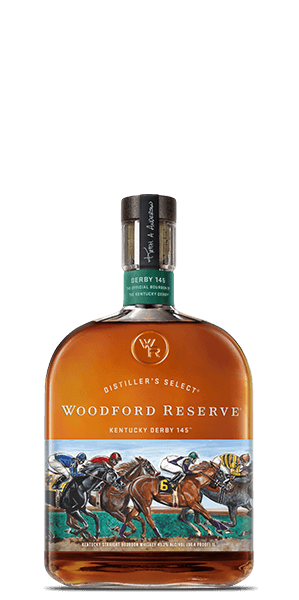 Woodford Reserve Kentucky Derby 145 Limited Edition Bourbon Whiskey