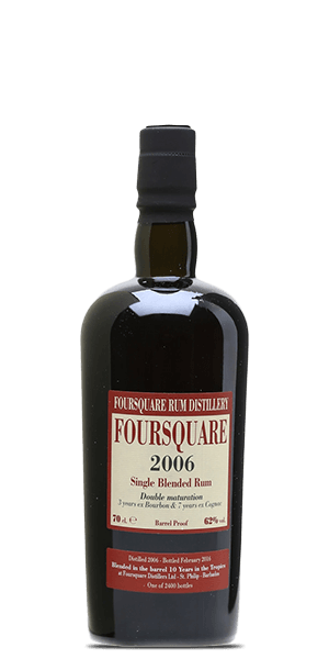 Foursquare 2006 Velier 10 Year Old Single Blended Rum