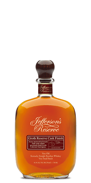 Jefferson's Groth Reserve Cask Finish