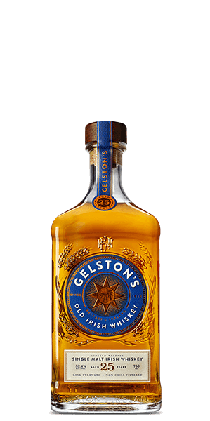 Gelston's 25 Year Old Irish Whiskey