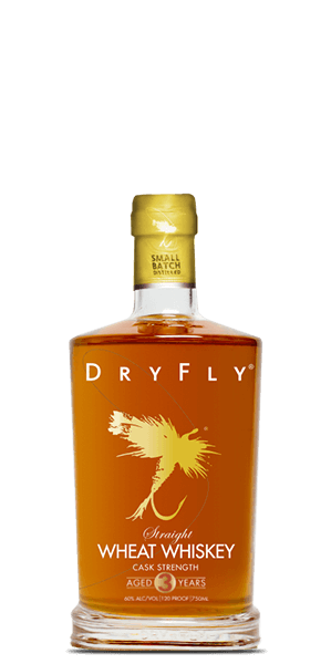 Dry Fly Cask Strength Straight Wheat Whiskey