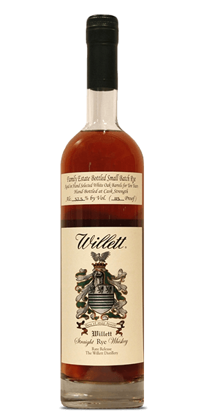 Willett Family Estate Small Batch Rye 10 Year Old