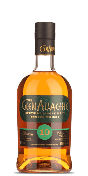 GlenAllachie 10 Year Old Cask Strength Batch 2