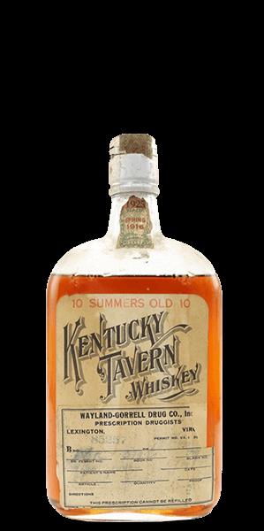Kentucky Tavern 1916 Bottled in Bond 10 Year Old Whiskey
