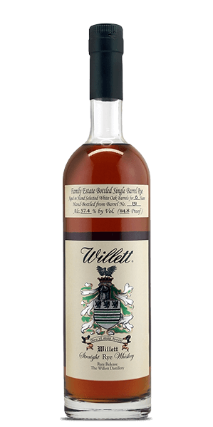 Willett Family Estate 6 Year Old Single Barrel Rye #147