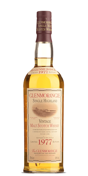Glenmorangie 21 Year Old 1977