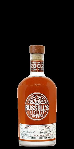Russell's Reserve Kentucky Straight Bourbon 2002