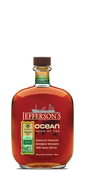 Jefferson's Ocean Aged at Sea Voyage 17 Flaviar Edition 2019