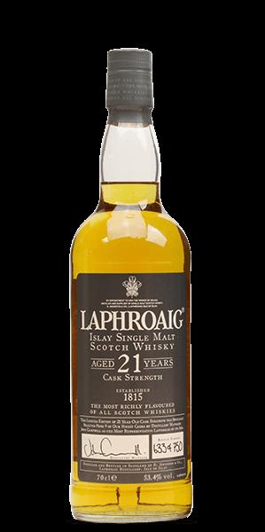 Laphroaig 21 Year Old Cask Strength