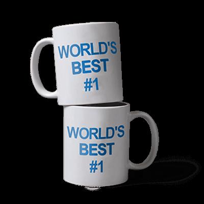 World's Best #1 Mug