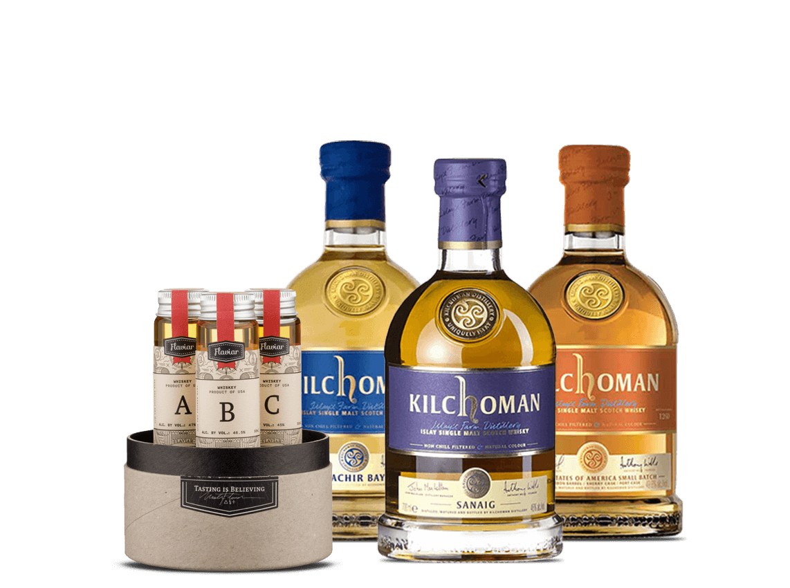 Kilchoman Whisky Flight