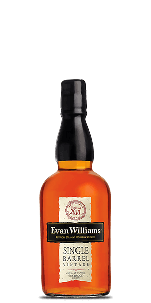 Evan Williams Single Barrel Bourbon Vintage 2010
